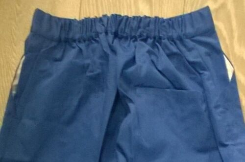 Driver Factory NEW trousers Sewn in crease TR278 mens royal blue Work workwear