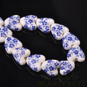 10pcs-14mm-Heart-Geramic-Loose-Spacer-Beads-Jewerly-Making-Deep-Blue-Spring
