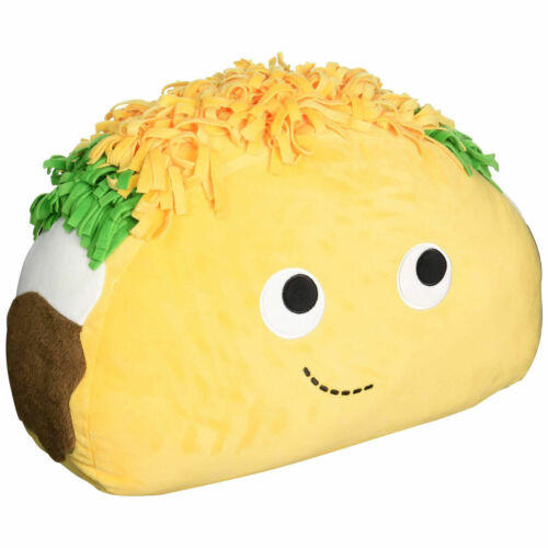 "16/"" Heidi Kenney kidrobot Yummy World TACO Plush NWT"