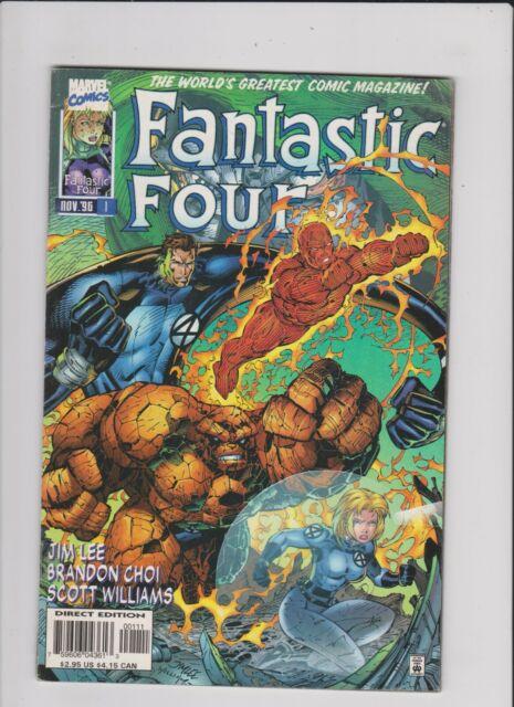 Fantastic Four 1996 series # 7 very fine comic book