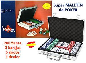 MALETIN-DE-POKER-de-metal-PROFESIONAL-200-fichas-2-barajas-5-dados-dealer