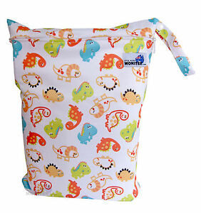 fdfb886fe3 Wet Bag Large Zip for baby cloth nappies swim or gym bag Cute ...
