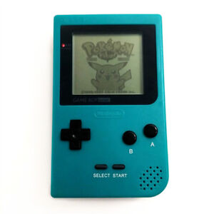 Refurbished-Teal-Green-Nintendo-Game-Boy-Pocket-Console-GBP-Game-Card