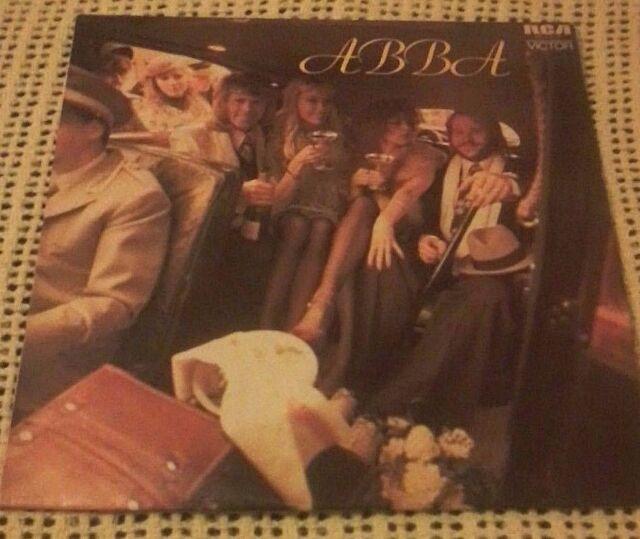 ABBA SELF TITLED ABBA VINYL LP 1975 ORIGINAL AUSTRALIAN PRESSING VPL 1 4013