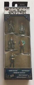 JADA-TOYS-Nano-metalfigs-Harry-Potter-5-pack-Figure-Collector-Set-Pack-Un-Nouveau-en-Emballage