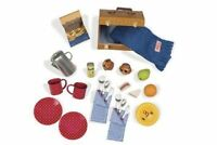 Our Generation Doll Packed For A Picnic Accessory Plates Cups Flatware Toy