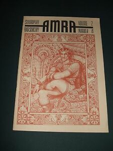 Vintage-issue-of-the-Fantasy-Fanzine-AMRA-for-July-1966-Illustrated