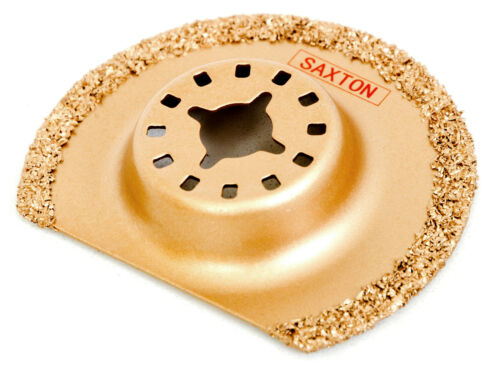 1x Saxton Carbide Blade 63mm for Fein Multimaster Bosch Oscillating Multitool