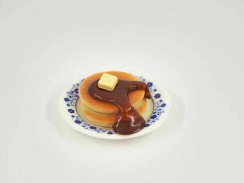 Pancake with Syrup Set 3cm Dessert Dollhouse Miniature Food