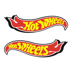 Stickers-plastifies-HOT-WHEELS-11cm-x-3cm