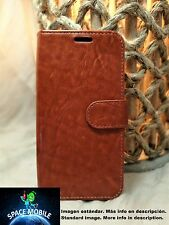 Funda Tapa Libro (Case Cover) Apple iPhone 4 / 4S / 4G [Marron / Brown]