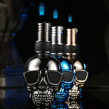 1pcs Cigarette Ligther Skeleton Windproof Butane Gas Jump Fire Lighter GL14