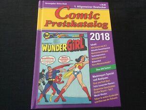 Stefan Riedl Deutscher Comic Preiskatalog 2018 Hartcover 617 Seiten NP. 39,90