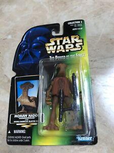 Vintage-Star-Wars-Kenner-1996-Momaw-Nadon-Hammerhead-Toy-Figure-Series-2-Rare
