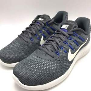 Nike Lunarglide 8 Men s Running Shoes Dark Grey Summit White 843725 ... 6c64476aa