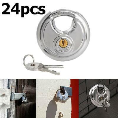 Self Storage Locks Keyed Alike 25 Stainless Steel Armor Disc Padlocks Trailer