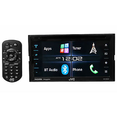 "JVC KW-V620BT 6.2"" 2-Din In-Dash Car Stereo Receiver DVD Player w/Bluetooth+HDMI"