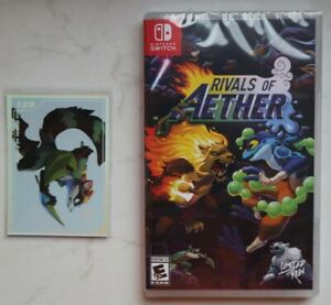 Rivals of Aether - Nintendo Switch - Limited Run Games LRG#91 NEU Alt. Cover