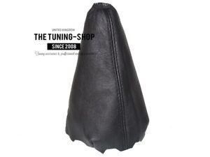 Gear Stick Gaiter Black Genuine Leather TRD Stripes