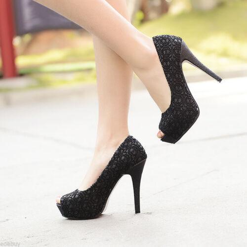 Elegant Schwarz Stilett Schuhe Spitze Pink Dekolleté beige 11 Komfortabel Cm blau 8 Tipo Absatz qq8Tv