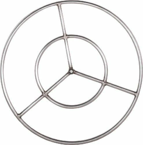 Stainless Steel Fire Ring 24 Inch For