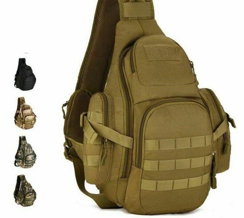 Military Sling Camping Bags Backpacks Bag Travel Belt Single Shoulder Bags Camping & Hiking