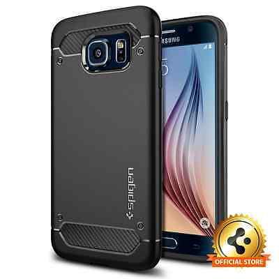 Spigen® [Rugged Armor] Samsung Galaxy S6 Shockproof TPU Case Ultra Slim Cover
