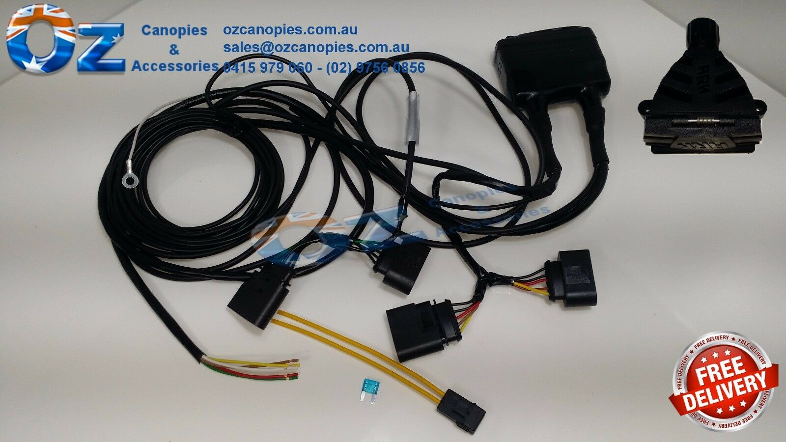 Toyota Rav4 Oem Trailer Wiring Harness Free About Wiring Diagram