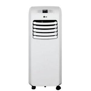 lg lp0815wnr 8 000 btu portable air conditioner remote 24 hour on off timer 48231376556 ebay. Black Bedroom Furniture Sets. Home Design Ideas