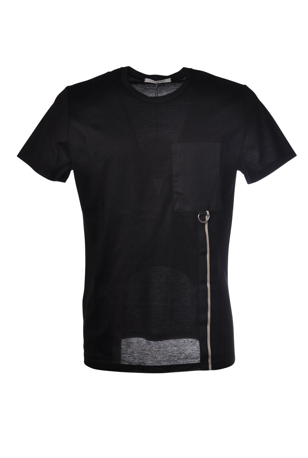 Low Brand - Topwear-T-shirts - Uomo - Nero - 5252325I185347