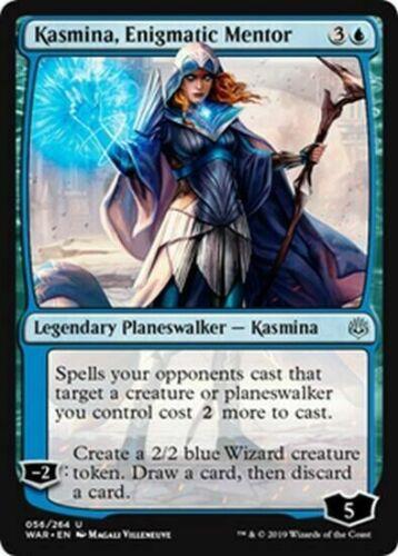 4x Kasmina MTG War of the Spark WAR Enigmatic Mentor Mint//NM Pack Fresh