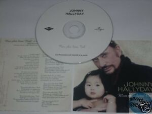 Johnny-Hallyday-Mon-Plus-Beau-Noel-Cd-Promo