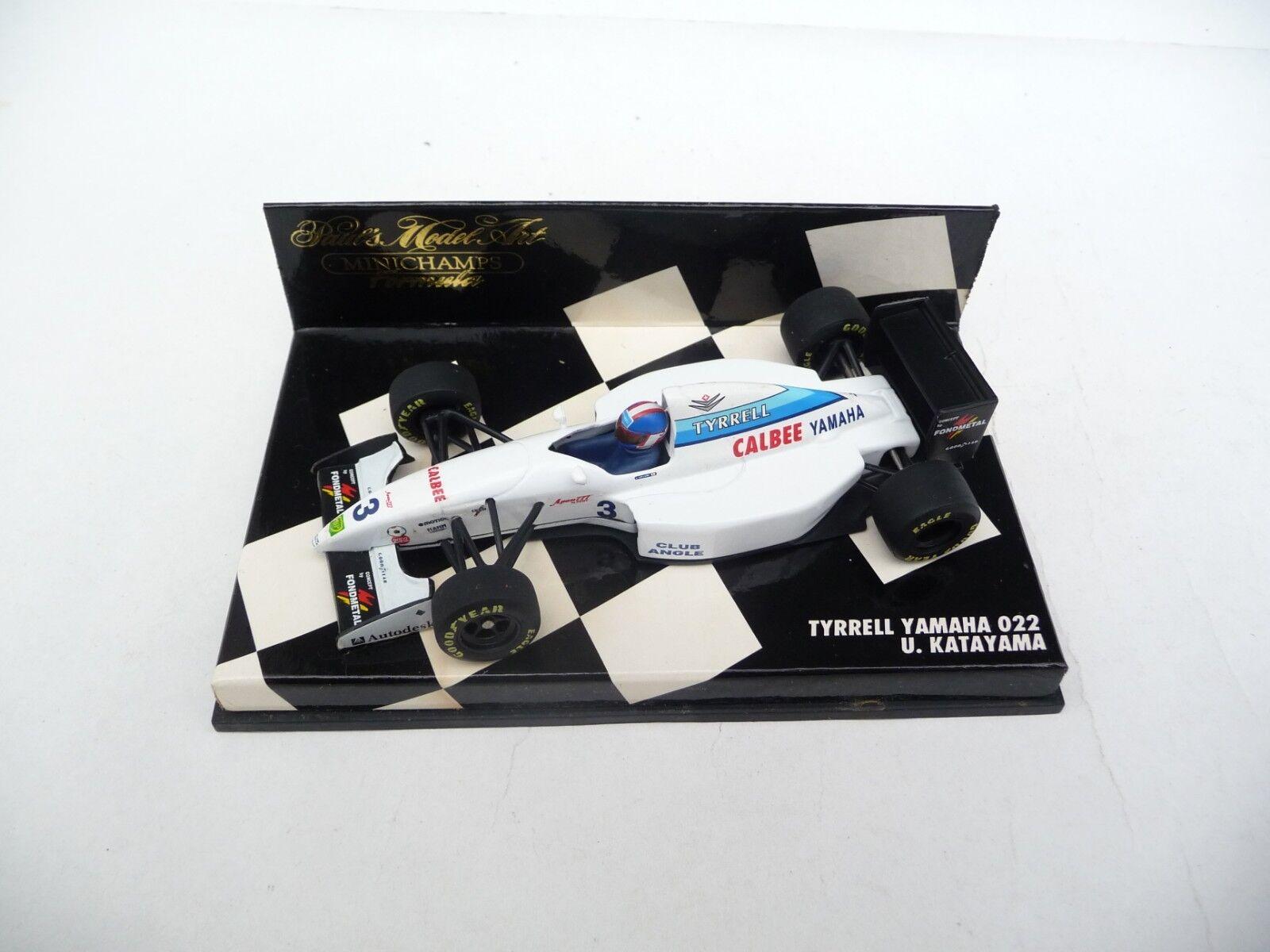 Minichamps 1 43 Tyrrell Yamaha 022 Ukyo Katayama 940003