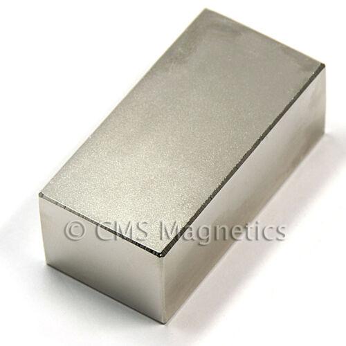 "N42 Neodymium Magnets 2x1x3//4/"" Wind Turbine Magnets 10 PC"