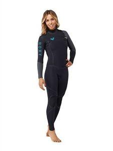 ROXY-CYPHER-HYDROLOCK-3-2-Fullsuit-women-039-s-6-12-14-new-NWT-Chest-Zip-wetsuit