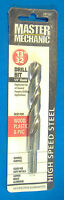 13/32 Master Mechanic High Speed Steel Drill Bit 1/4 Chuck Hss