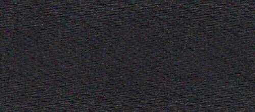 5 M Satén banda doble satén 10 mm negro en ambos lados iguales