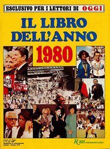 Supplemento OGGI LIBRO DELL'ANNO 1980 Rizzoli Editore