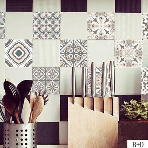 Details zu Bunt Wandtattoos Aufkleber Vintage Style Küche & Bad  Fliesenaufkleber Mode