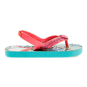 NWT Disney Store Elena of Avalor Flip Flops Sandals Shoes Girls Princess