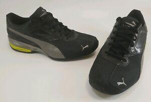 Puma-Tazon-6-Eco-Ortholite-Men-039-s-Running-Shoes-Black-Gray-Size-13