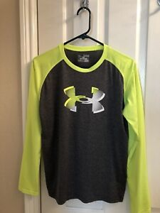 under armour yellow long sleeve