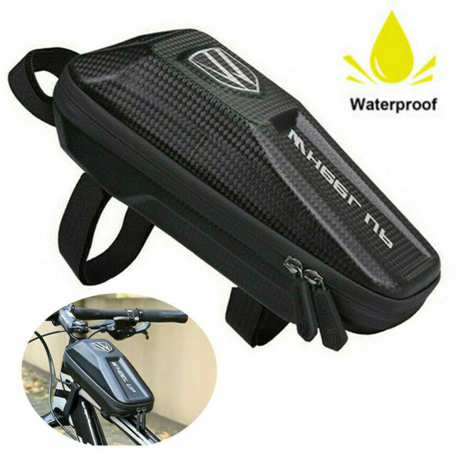 Waterproof Bike Bag Front Frame Cycling Bicycle Top Tube Pouch Phone Holder MTB