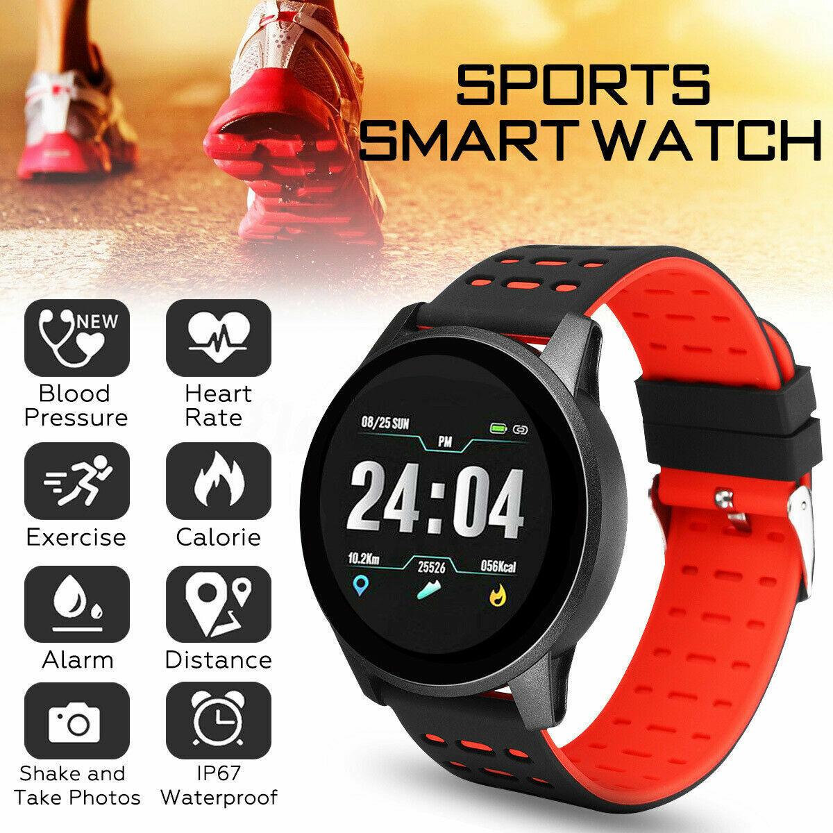 Bluetooth Sport Smart Watch Fitness Tracker Step Counter Ped