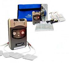 Genuine TPN 200 + Premier Tens Machine  Safety Cap Timer Drug Free Pain Relief