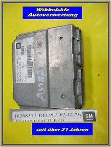 Opel-Ascona-C-Motorsteuergeraet-16268377-Delphi-62-37-797