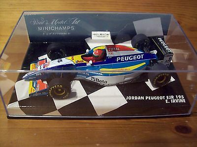 Gentile 1/43 Jordan 1995 Peugeot Ejr 195 Eddie Irvine-mostra Il Titolo Originale