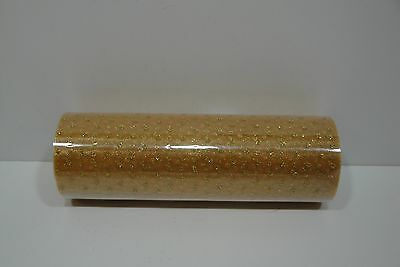 """6"""" WIDE SPARKLE GLITTER DOTS SHEER ORGANZA ROLL CHOOSE FROM 16 COLORS"""