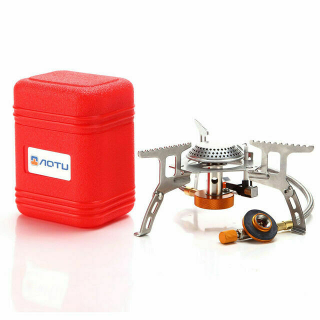 Convenient mini Gas-Burner Fishing Outdoor Cooking Camping Picnic Cook Stove