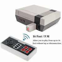 Wireless Controller For Nintendo Nes Classic Mini Edition + 2.4ghz Receiver Us